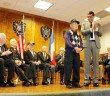 "A.G. ""Agie"" Harada is recognized as he receives the National Order of the Legion of Honor in the rank of Chevalier (Knight) from French Consul General Christophe Lemoine on March 9."