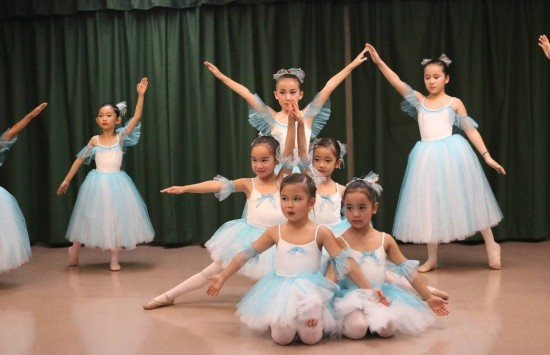 Ballerinas from Valley Japanese Community Center.