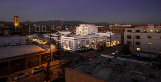 Located in L.A.'s Arts District, Hauser Wirth & Schimmel held its grand opening on March 13.