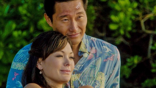 Chin Ho on a date with Leilani (Lindsay Price).