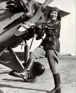 In 1932, Katherine Cheung was the first Chinese American woman to become a licensed pilot.