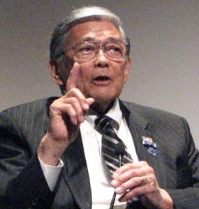 Former Secretary of Transportation Norman Mineta was the keynote speaker.