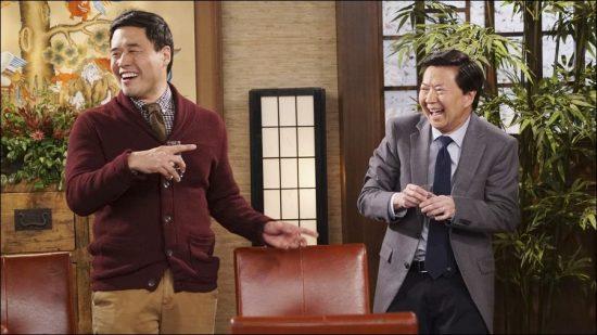 "Randall Park guest-starred on ""Dr. Ken"" starring Ken Jeong."