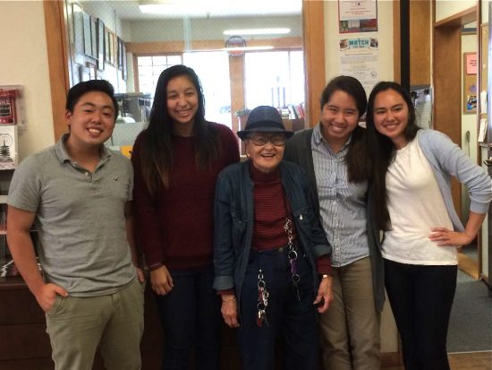 Kase Program participants serve as interns at Japanese American community organizations.