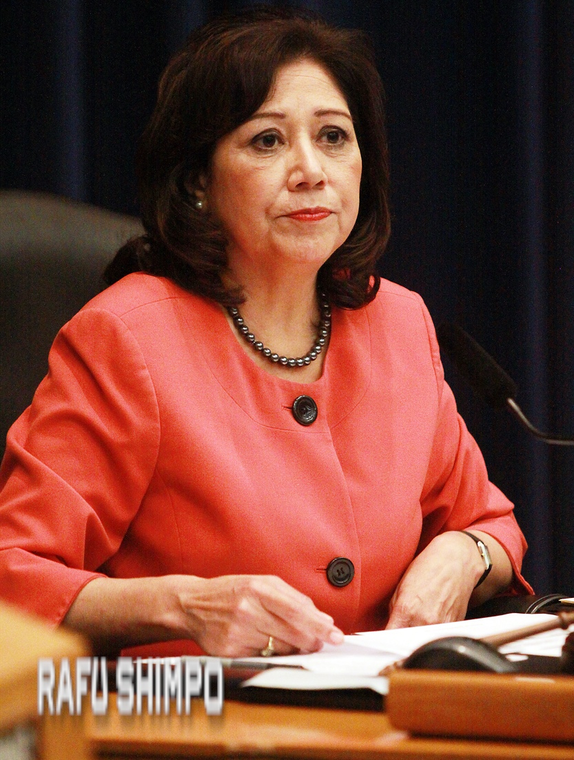 Los Angeles County Supervisor Hilda Solis.