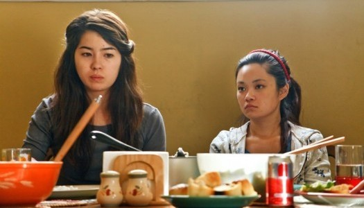 "Nichole Bloom and Courtney Mun in a scene from ""Model Minority."""