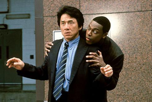 "The original ""Rush Hour"" duo of Jackie Chan and Chris Tucker."