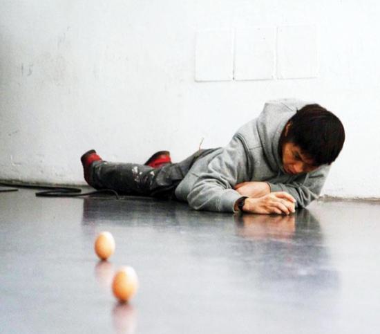 Performance artist Tetsuya Umeda. (Photo courtesy Tetsuya Umeda)