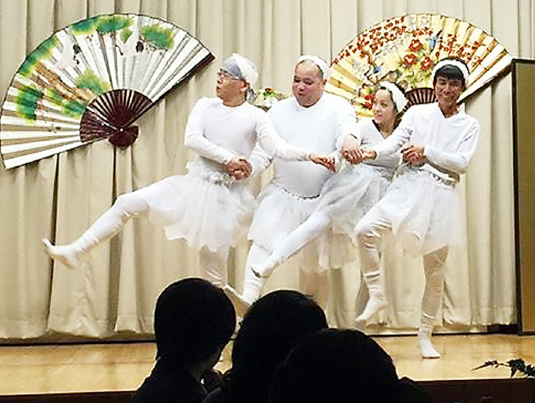 Ballet dancers perform at the Valley Japanese Community Center's 62nd annual Shinnenkai or New Year's party on Jan. 26.