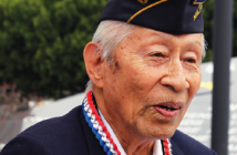 MIS veteran Victor Abe was the structural engineer for the Go For Broke Monument.