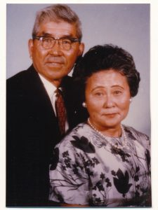 Saburo Muraoka and his wife, Haruko.