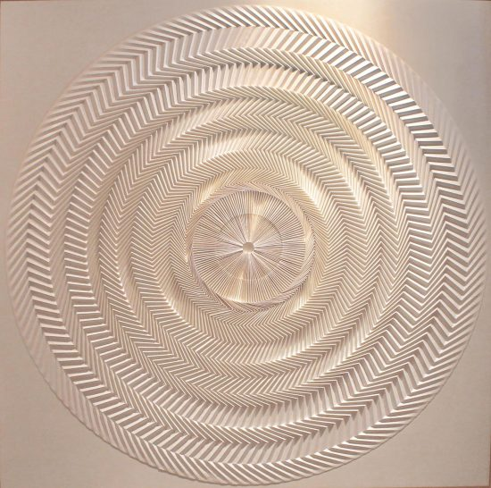 "Yuko Nishimura, ""Shine,"" 2008. Paper. Photo courtesy of the artist."