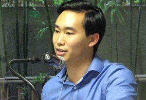 Colin Nozaki spoke on behalf of Bunkado.