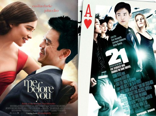 Two examples of movie posters #StarringJohnCho