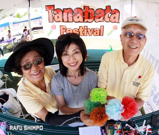 tanabata volunteers