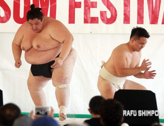 usa sumo demo Yama amd Takeshi