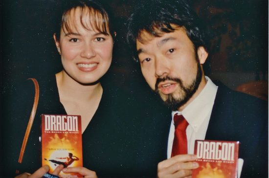 Guy Aoki and Shannon Lee in 1993.