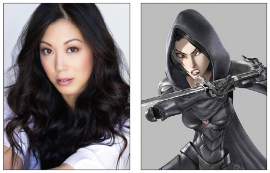 "Brittany Ishibashi will be seen as Karai, right, in ""Teenage Mutant Ninja Turtles: Out of the Shadows,"" opening nationwide Friday."