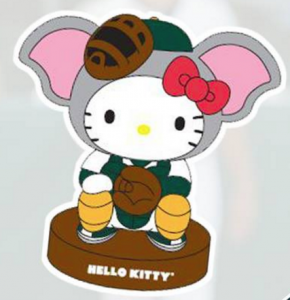 hello kitty-oakland a's