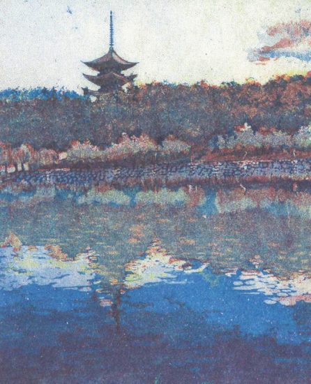 Guest artist Hisako Terasaki will show etching prints inspired by her travels to locations including Nara and Kyoto.