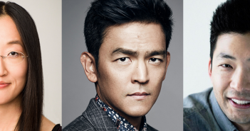 V3con honorees Jennifer Yuh Nelson, John Cho and Phil Yu.