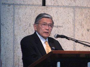 Former Secretary of Transportation Norman Mineta.