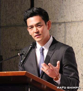 活躍するアジア系米国人として表彰された韓国系米国人俳優ジョン・チョー
