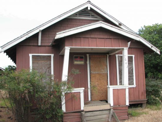 The Furuta bungalow