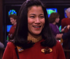 Jacqueline Kim as Demora Sulu
