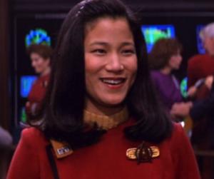 Jacqueline Kim as Demora Sulu