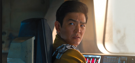 "John Cho as Sulu in ""Star Trek Beyond."""