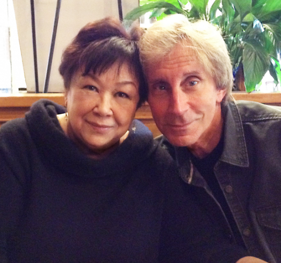 Kellye Nakahara Wallett and Jeff Maxwell