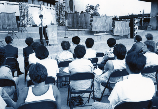 In the 1980s, we formed a group called Asian Americans for Nuclear Disarmament and held many rallies, educationals and commemorative events in the community.