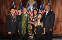 takai sworn in
