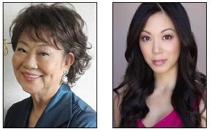 Kaori Nara Turner and Brittany Ishibashi