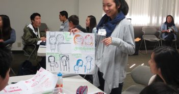 Rising Stars workshop on cultural values. (Photo by Cyril Nishimoto)