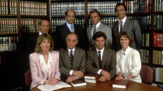 "Season 1 cast of ""L.A. Law."""