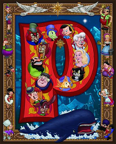 "Kenny Yamada's ""Pinocchio"" poster"