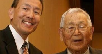 Ted Namba (left) and Masaji Inoshita