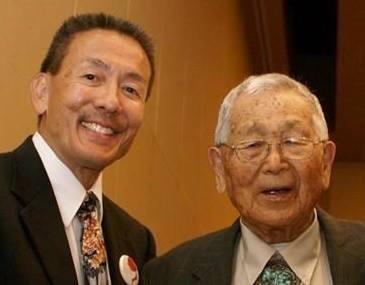 Ted Namba (left) and Masaji Inoshita