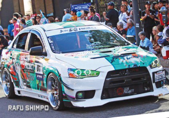 car show-parade