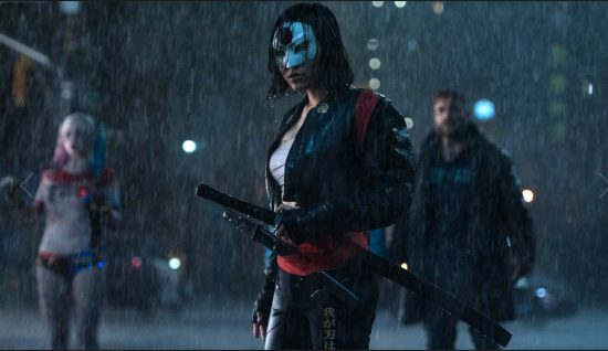 "Karen Fukuhara as Katana in ""Suicide Squad."""