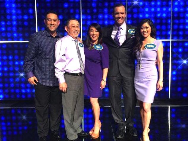 Team Yamaguchi (from left): Brett Yamaguchi, Jim Yamaguchi, Lori Yamaguchi, Bret Hedican and Kristi Yamaguchi.