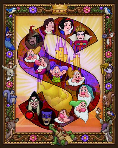 "Kenny Yamada's ""Snow White"" poster"