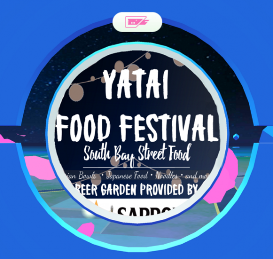 Japan Alliance has announced that the Yatai Food Festival will also be a Pokestop for Pokemon Go players.
