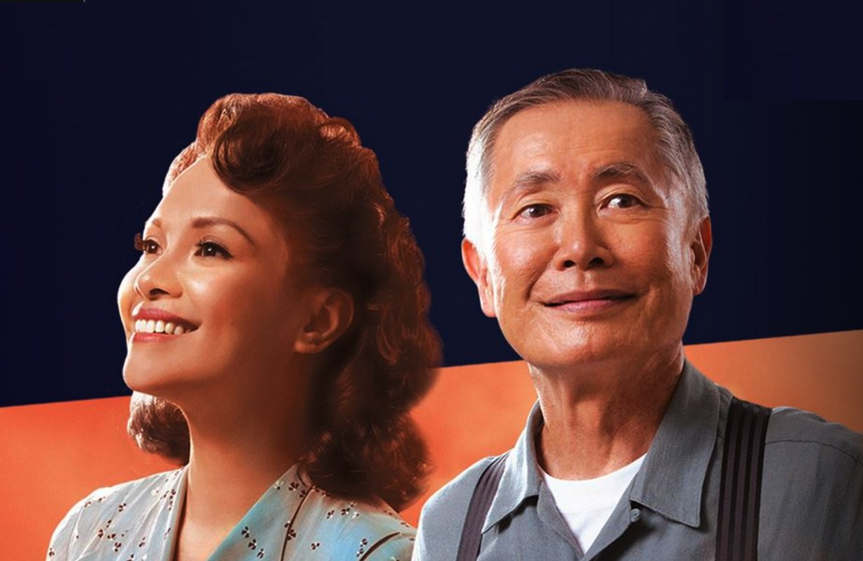 "Lea Salonga and George Takei star in ""Allegiance."""