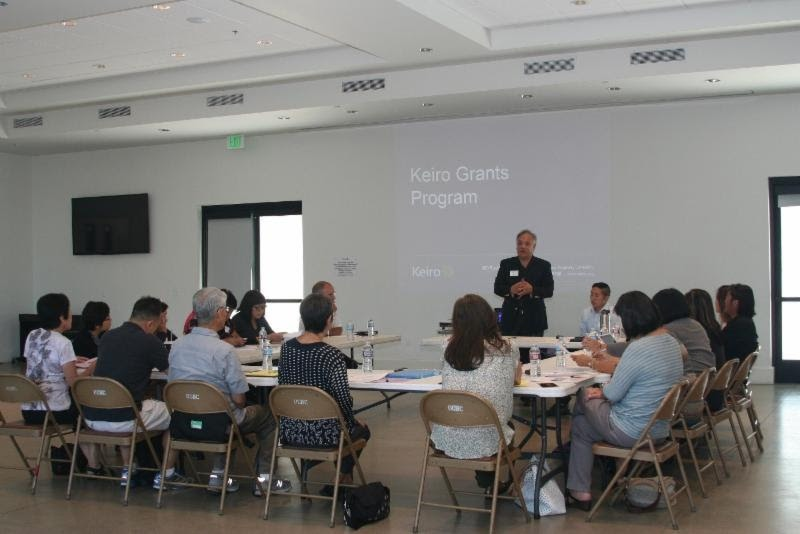 The first of eight scheduled Grants Program informational workshops was held at Orange County Buddhist Church in Anaheim on Sept. 7.