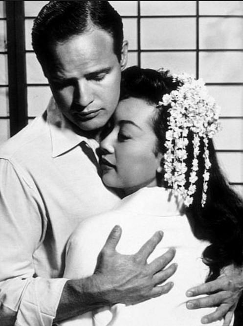 "Miiko Taka starred with Marlon Brando in ""Sayonara."""