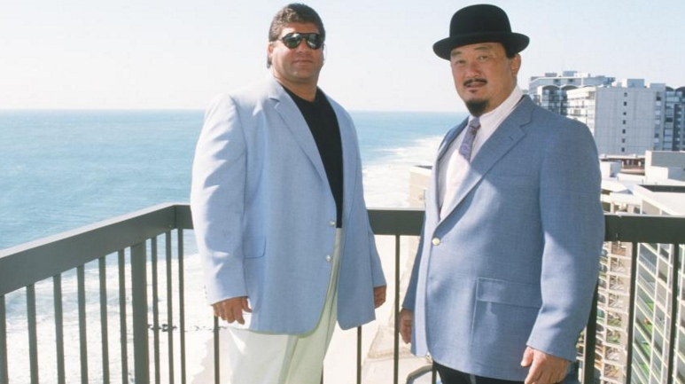 "Don Muraco and Mr. Fuji appeared in spoofs such as ""Fuji Vice."""