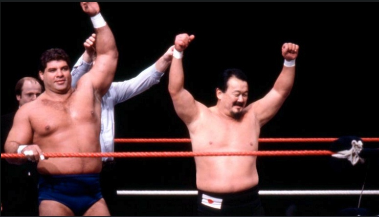 Mr. Fuji achieved fame both as a wrestler and as a manager.